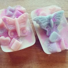 Fiver Friday, 2 x Soy Wax Mini Loaves, Choose from: Unicorn, Pink Coconut, Totally Tropical or Enchanted Forest Fruits, Scented Wax Melts. by FaeryLightsWaxMelts on Etsy