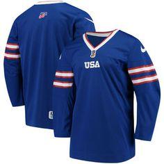 US Hockey Nike 2018 World Juniors Championship Replica Jersey - White Hockey  Sweater 50e9e1796