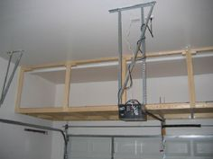 Overhead Garage Storage on Pinterest | Garage Storage, Garage Storage ...
