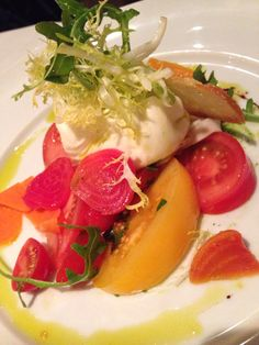Tomato, beet burrata salad from Lupo