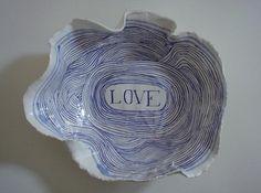 Ceramics by Ruan Hoffman.