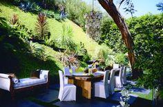 hillside dining