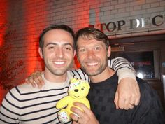 Johnny Partridge & Jon Tsouras support the Paul Strank Roofing Photothon with Pudsey #cin #pudsey #photothon