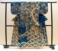 Edo period kimono (kosode).