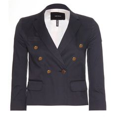 LISA FITTED JACKET  seen @ www.mytheresa.com Denim Fashion, Isabel Marant, Lisa, Suit Jacket, Sporty, Blazer, Elegant, Fitness, Jackets