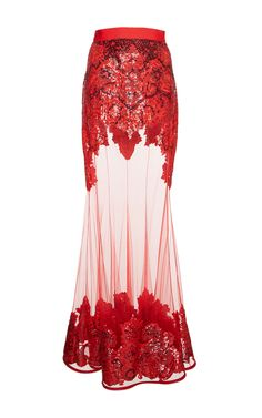 Embroidered Tulle Skirt by GIVENCHY for Preorder on Moda Operandi