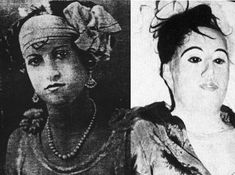 Elena Milagro de Hoyos, 21, was diagnosed with consumption in the 1920's. Her Doctor, Carl Tanzler, fell in love with her. She died in 1931 & he stole her body from the mausoleum 2 yrs later & attempted to repair her with glass eyes & skin made of silk & wax. Her sister found out about it in 1949 & the doctor was charged but the charges were dismissed. Elena was secretly reburied in an unmarked grave. When Tanzler died in 1952, a life-sized effigy of Elena made of wax was found in his home.