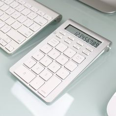 Bluetooth Calculator Keypad – $35  |  I don't have a single keyboard in the house right now with a 10-key.  SO ANNOYING.