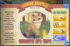 They're Here! Another Big Cat Comes to Jamaa   #AnimalJam #News http://www.animaljamworld.com/theyre-another-big-cat-comes-jamaa/