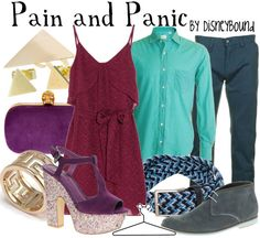 Pain and Panic by disneybound
