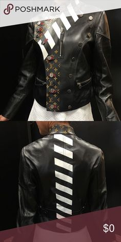 fc0fb0448cb Additional pictures Additional pictures of the Louis Vuitton leather jacket  Jackets   Coats