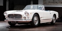 Lease a 1964 Maserati 3500 Vignale Spyder with Premier Financial Services today. Photo via Classic Driver. #Lease #Maserati #SimpleLease