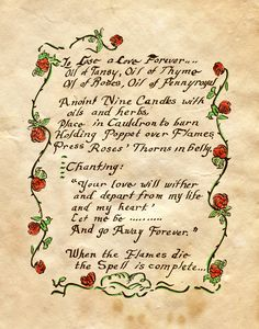 "Book of Shadows:  ""To Lose A Love Forever,"" by Charmed-BOS, at deviantART."