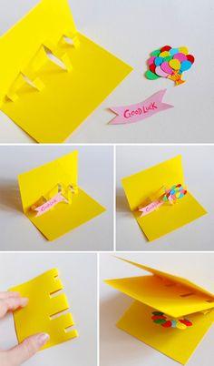 pop up открытки | Море идей