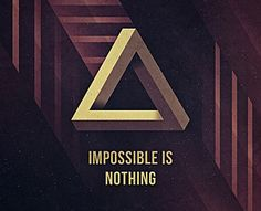 Impossible Is Nothing by Michael Schmid (via Creattica)