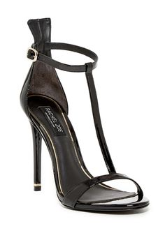 Obsessed with these black Rachel Zoe Tee T-Strap Sandals