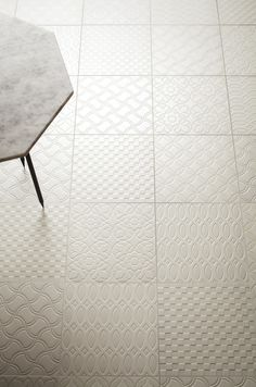 These tiles are so pretty! They look like they may be difficult to clean though.
