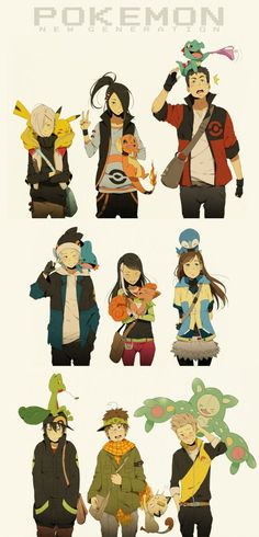 Pokemon New Generation by Ntdevont.