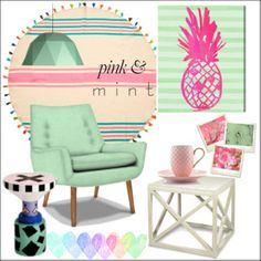Reminiscing * Visions of Pink & Mint