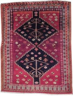 "$275 Oriental Rug Persian Hand Woven 4'5"" x 6' ft Rug ETHNIC DECOR #NLC #TraditionalPersianOriental"