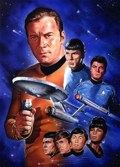Original Cast.  #startrek