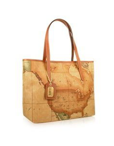 Alviero martinis world map bags so much class fashionisto alviero martini 1a classe 1a prima classe geo printed large shopping bag gumiabroncs Image collections