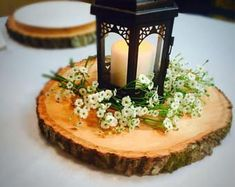 "12"" Set of 20! Wedding centerpieces, wedding decor, rustic wedding table decor, wood slice 12 in, fall centerpiece"