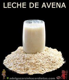 Receta saludable y sencilla de leche de avena casera baja en calorías y colesterol, apta para diabéticos, baja en colesterol, apta para vega...