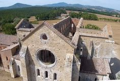 Abbey of San Galgano | Atlas Obscura Italy's Abbey of San Galgano was once a thriving hermitage, but a lack of protection from roving bandits soon saw the monastery fall into disrepair and eventually be decommissioned, leaving the stunning ruins that stand to this day.