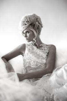 Couture Bride Pose!  Wedding Dress, Bride Poses, luxury wedding, bride studio pose, Wedding photography poses