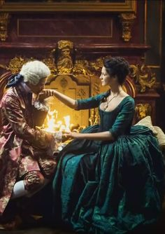 Outlander: Claire Fraser pays a particular visit on King Louis to get Jamie released from the Bastille.