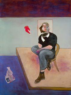Francis Bacon Study for Self-Portrait, 1981