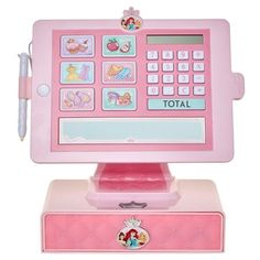 Disney Princess Style Collection Cash Register with sounds and working drawer Jasmin Party, Disney Princess Toys, Disney Princesses, Little Girl Toys, Cash Register, Baby Alive, Toy Kitchen, Princess Style, Princess Jewelry