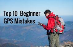 10 Biggest Beginner GPS Mistakes - http://sectionhiker.com/10-beginner-gps-mistakes/