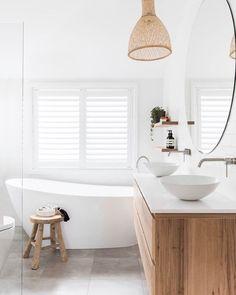 Home Interior Farmhouse .Home Interior Farmhouse Bad Inspiration, Bathroom Inspiration, Beautiful Bathrooms, Modern Bathroom, Master Bathroom, Natural Bathroom, Coastal Bathrooms, Vanity Bathroom, Bathroom Basin