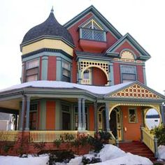 151 Best Painted Ladies Images Old Houses Victorian Victorian - How-to-paint-a-victorian-style-home