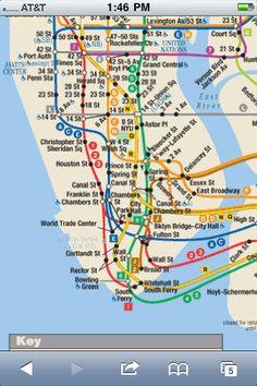 Manhattan Subways, Here I come!