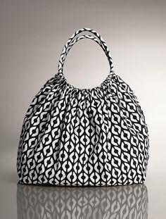 Talbots - Diamond-Print Beach Bag |