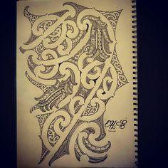 Maori Manaia patterns - Google Search Maori Tattoo Patterns, Maori Patterns, Circle Drawing, New Zealand Tattoo, Maori Tattoo Designs, Maori Art, Carving Designs, Chest Tattoo, Flower Tattoos
