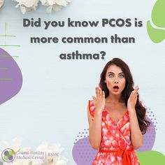 80% of women who have 6 or less periods a year, have PCOS. It is a condition that affects 10,000,000 people. You are not alone. Sign up for a consultation today. #pcos #pcosawareness #pcosfighter #pcoswarrior #infertility #womenshealth #pcossupport #pcoscommunity Causes Of Infertility, Medical Center, Asthma, Pcos, Appointments, Did You Know, Conditioner, Sign, Learning