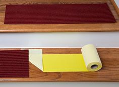 The Original Stair Tread Installation Kit by Stair Secure Extra Wide Premium Double Sided Tape for Stair Treads, Carpet Runners, and Rugs - Easy to Install and Covers 13 Stairs Area Rug Runners, Stair Treads, Girl Bedrooms, Carpet Runner, Area Rugs, Stairs, The Originals, Amazon, Wood