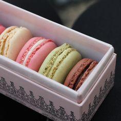 Macarons from Laduree Paris but in this case homemade.