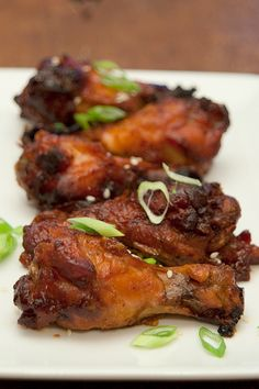 Slow Cooker Asian Style Wings @FoodBlogs                                                                                                                                                                                 More