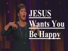 Joyce Meyer - Jesus Wants you to be Happy Sermon 2017 Blessed Sermon from our Pastor Joyce Meyer Jesus Wants you to be Happy Joyce Meyer Quotes, Joyce Meyer Ministries, Love Joy Peace, Answer To Life, Faith Walk, Beth Moore, Life Problems, Ministry Ideas, Godly Woman