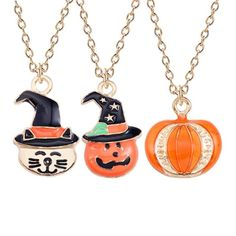 Home & Garden Intelligent 10pcs Pumpkin Beads Halloween Enamel Charms Pendant Diy Jewelry Findings To Rank First Among Similar Products