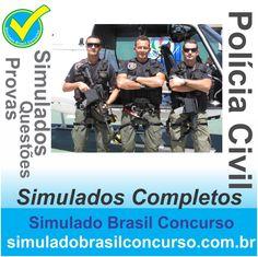 Boa noite Concurseiros, estamos com novos Simulados COMPLETOS da Polícia Civil de vários estados, como a do DF.  Aproveitem!!! Bons Estudos!!! Simulado Brasil Concurso http://simuladobrasilconcurso.com.br/  #simuladobrasilconcurso, #policiacivil