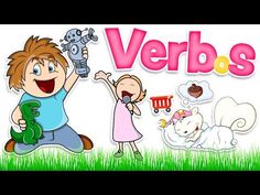 Learn some action verbs in Spanish with this slideshow of flashcards with images and words for kids and language students You can learn both pronu. Spanish Songs, Spanish Phrases, Spanish Grammar, Spanish Language, Preschool Spanish, Learning Spanish, Spanish Basics, Spanish Class, Learn To Speak Spanish