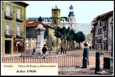 Plaza de Riego y Universidad.1906