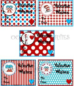 As Is-Thing 1 & Thing 2 Valentine Cards