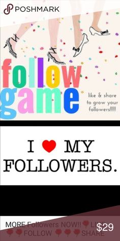 ❤❤💐💐My Very First Follow Game❤❤💐💐 ❤❤❤Hey all!! How's everyone doing? I am all excited and thrilled to start my very first follow game!! Please tag your friends! I would love to grow more followers so Please help!!                                                                 ❤❤❤Like, Follow all likes, and please Share!❤❤❤           This will be a lot of fun!! ❤❤❤ Anthropologie Other
